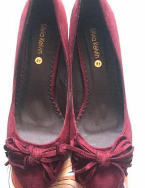 Zapatos mujer piel ante n° 40-41.