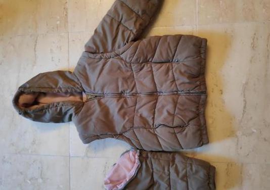 Abrigo chaqueta verde talla 5