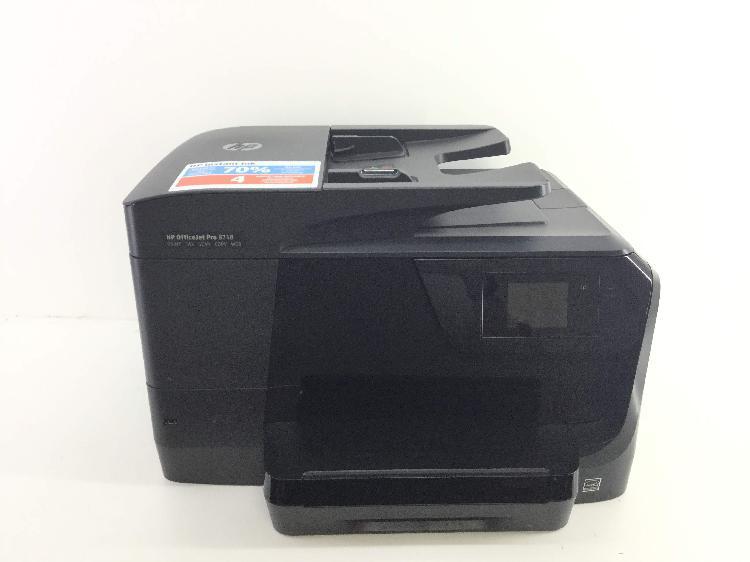 Impresora multifuncion hp officejet pro 8718
