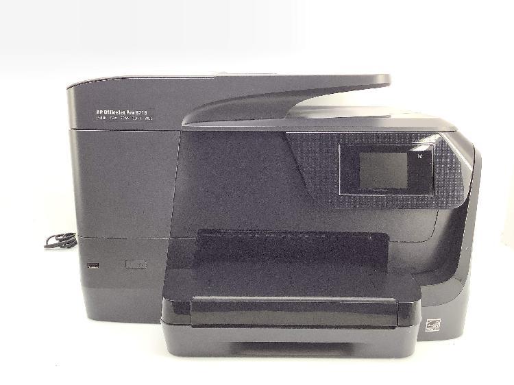Impresora tinta hp officejet pro 8718