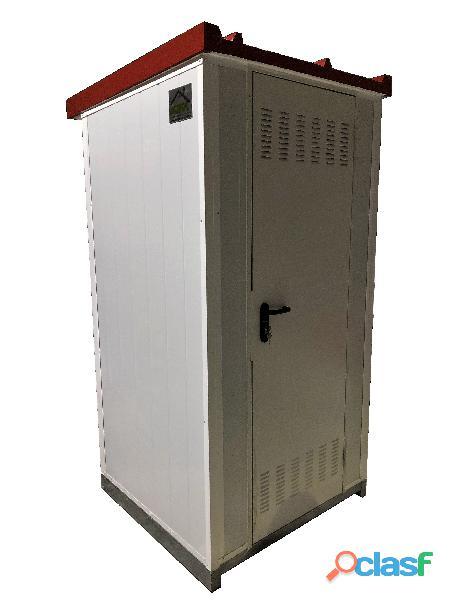 Cs0101 módulo sanitario 1 x 1,1 m con lavabo , inodoro.