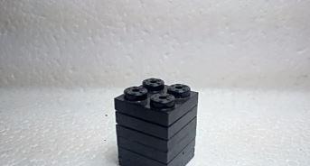 Negro placa 82x2 - tente (6 unidades)