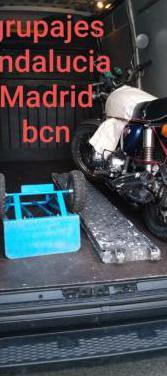 Portes en ruta andalucia-madrid-bcn