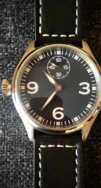 precioso reloj de corona inversa