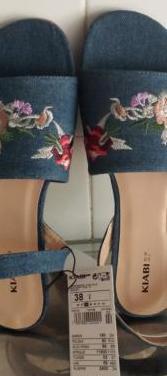 Zapatos vaqueros nuevos, numero 38