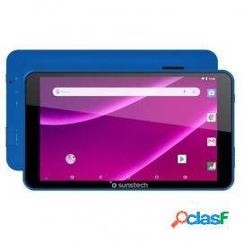 """Tablet sunstech tab781 blue qc 1.2ghz 1gb ram 8gb 7"""" android 8.1"""