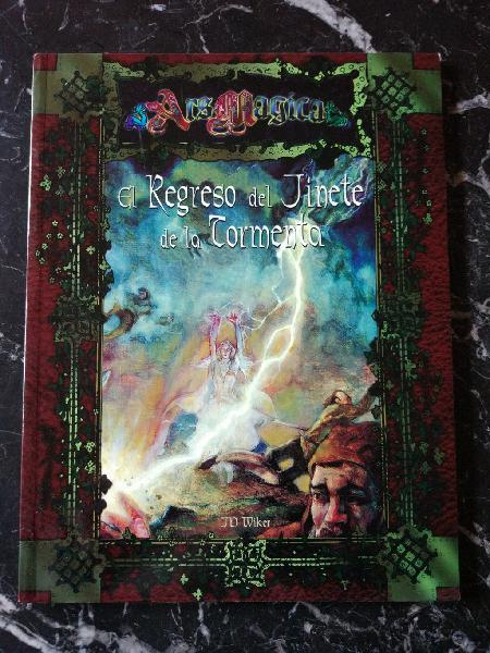 Ars magica el regreso del jinete de la tormenta