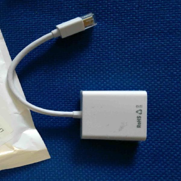 Adaptador mini displayport a vga nuevo