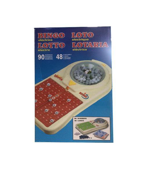 Bingo premium 38x22x10 eléctrico