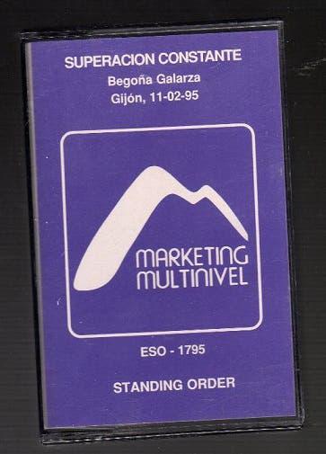 Cinta cassette conferencia marketing multinivel