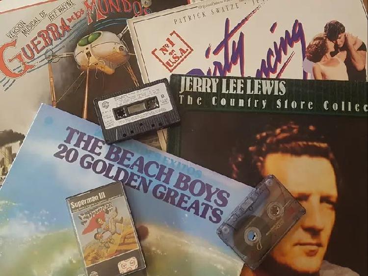 Conversion de vinilos y cassette a cd y mp3