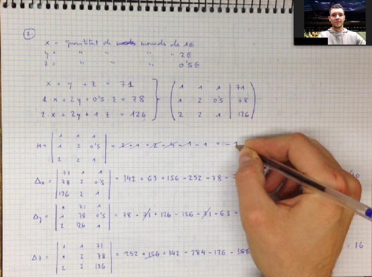 Clases online de matemáticas y física