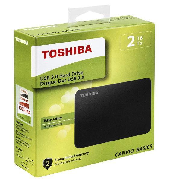 Disco duro externo toshiba 2tb 3.0usb