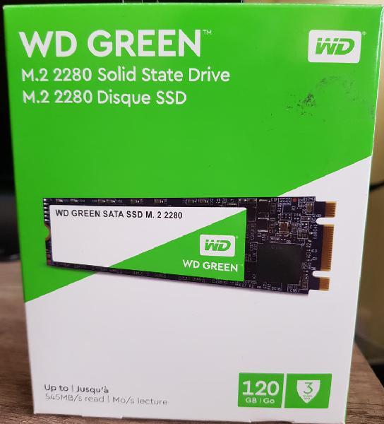 Disco duro wd green 3d ssd m.2 120gb sata3