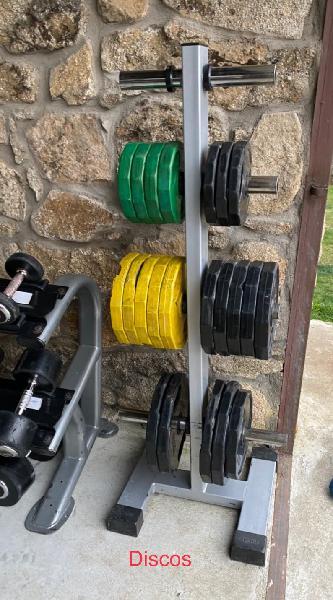 Discos pesas olímpicos