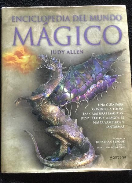 Enciclopedia del mundo magico judy allen