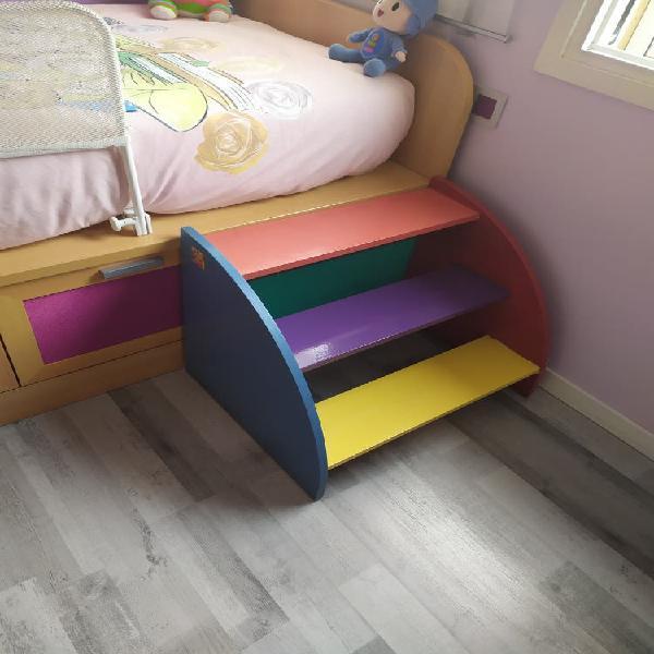 Escalera niños para subir a la cama