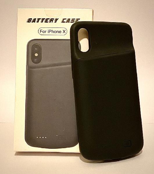 Funda batería recargable para iphone x / xs