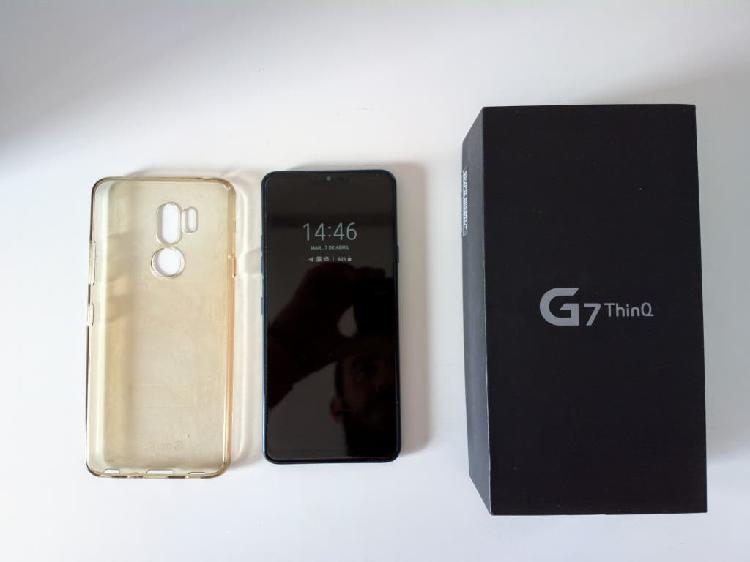 Lg g7 thinq - factura - perfecto estado