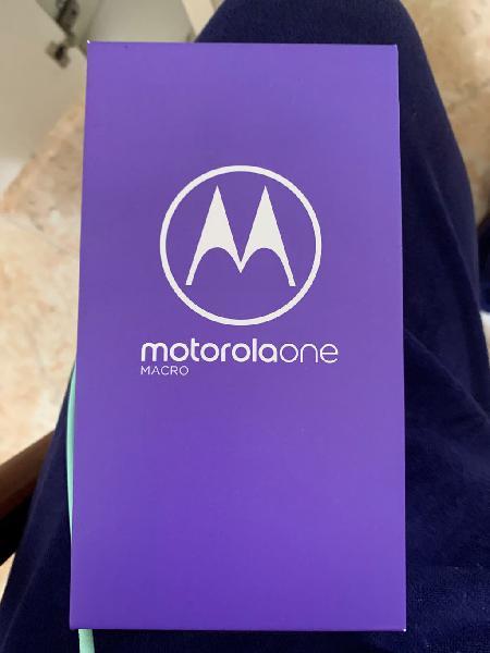 Motorola one macro nuevo a estrenar, no negociable