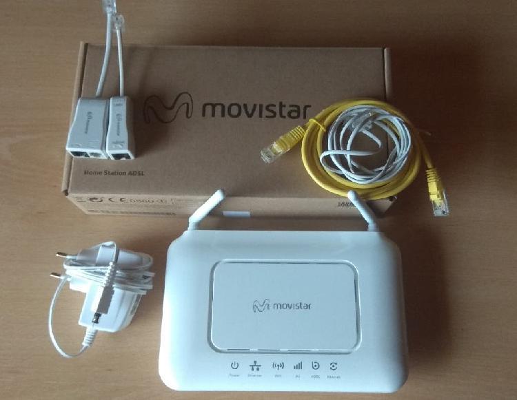 Movistar home station adsl