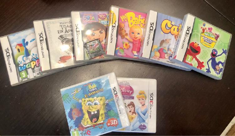 Nintendo juegos 3ds y 3ds