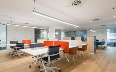 Oficina compartida / coworking