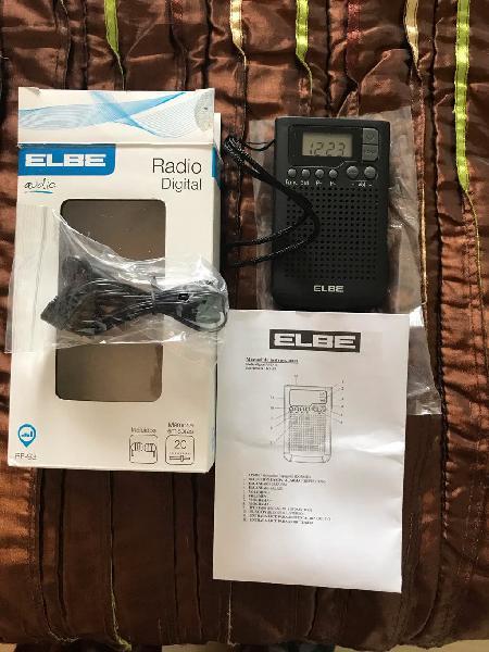 Radio digital elbe rf-93. nuevo