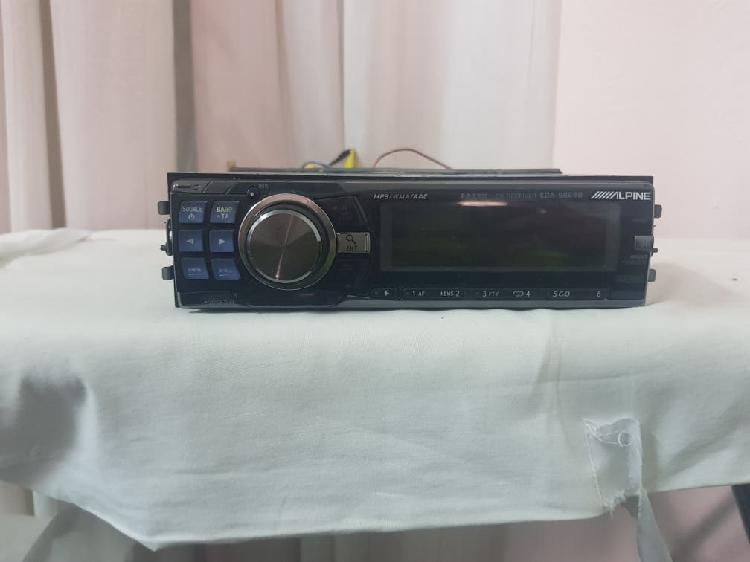 Radio-cd alpine