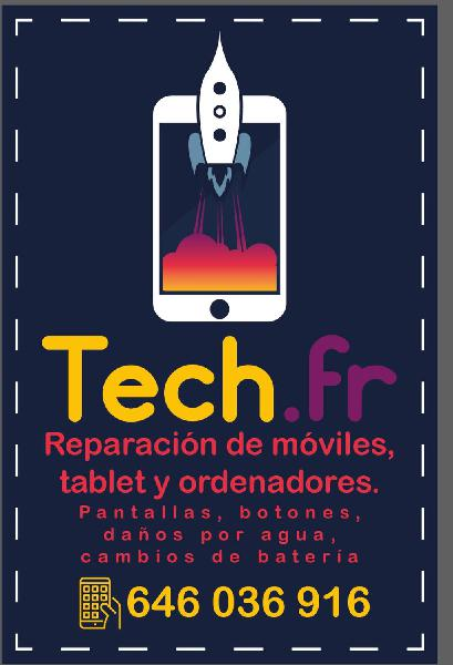 Reparación de móviles, tablets y ordenadores.