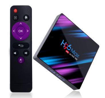 Tv box h96 max (configurada)