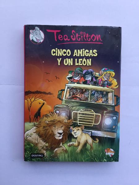 Tea stilton, cinco amigas y un leon