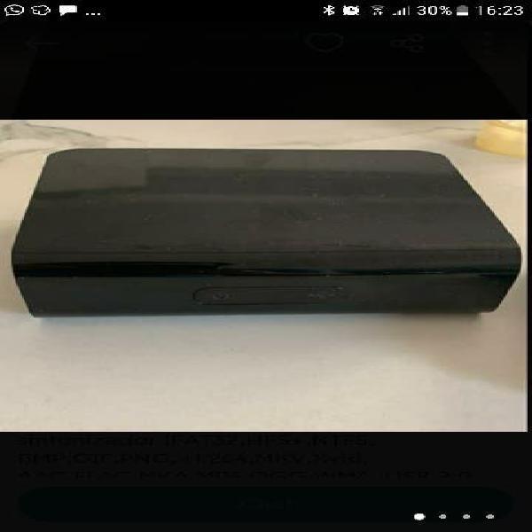 Wd media player center grabador, disco duro y repr