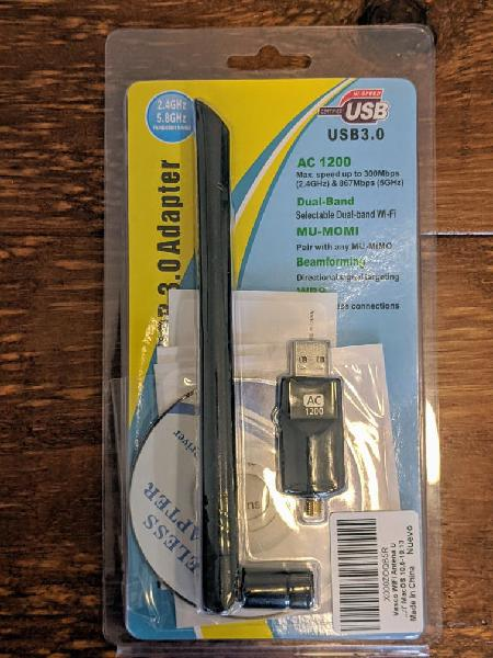 Wifi usb adaptador