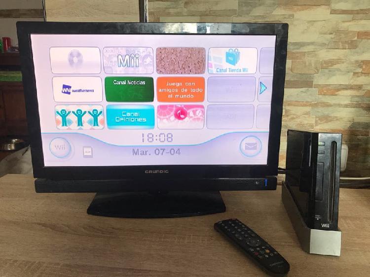 Wii negra y mario party