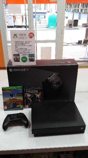 Xbox one x + 1 mando + 2 juegos de regalo