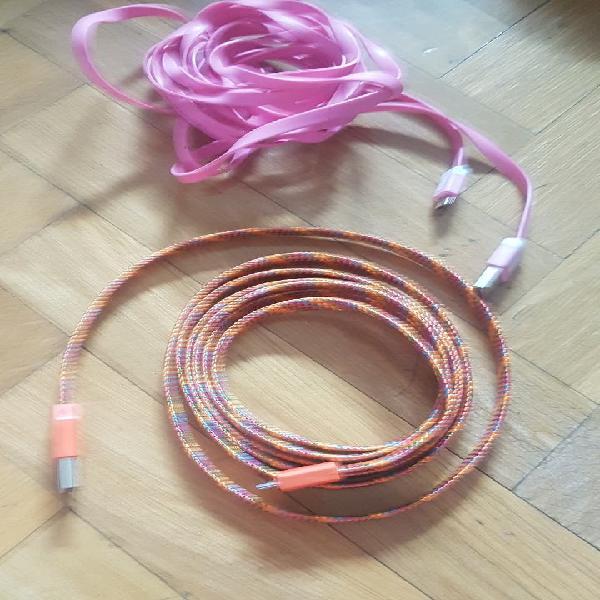 Cables móviles de 2m