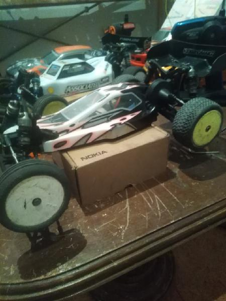 Coche rc tlr 22.0 team lossi racing