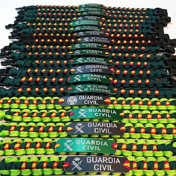Pulseras guardia civil