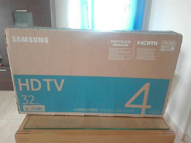 Televisión samsung hd