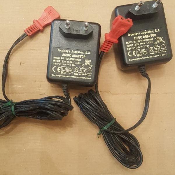 Transformador 12v 7.2va scalextric compact scx etc