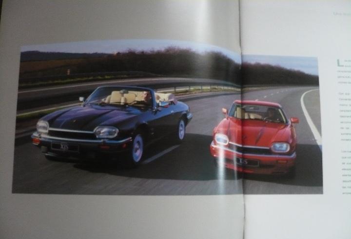 Catálogo jaguar xjs gran formato