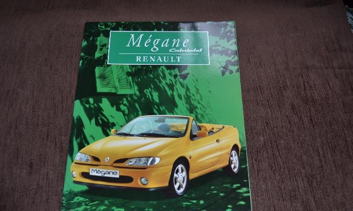 Catálogo renault mégane cabriolet