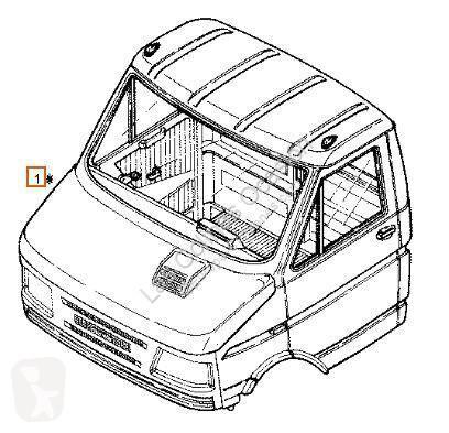Cabina / Carrocería Iveco Daily Cabine Completa pour camion