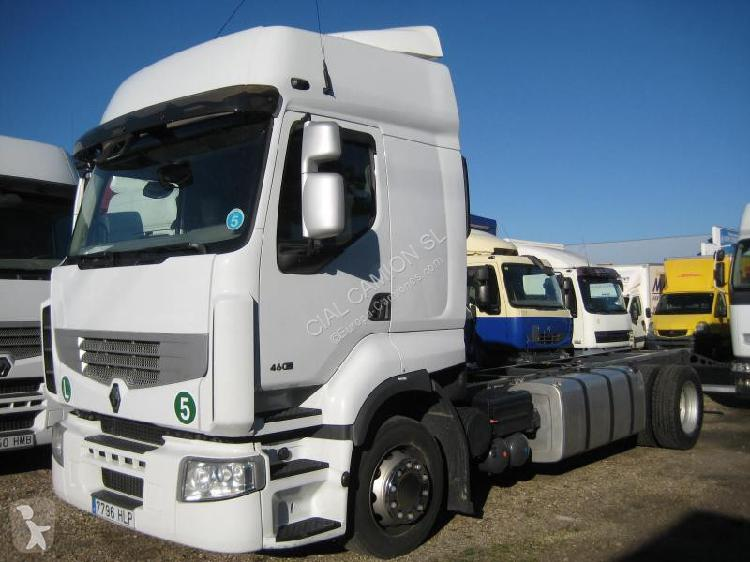 Camión Renault chasis Premium 460 DXI 4x2 Diesel Euro 5