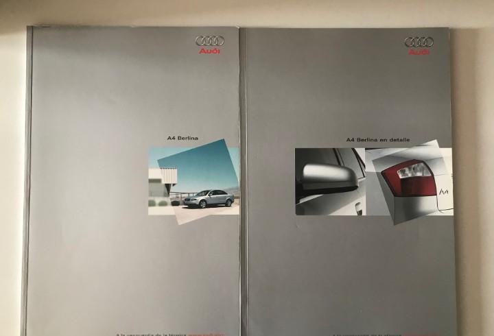 Catálogo audi a4 berlina - noviembre 2000