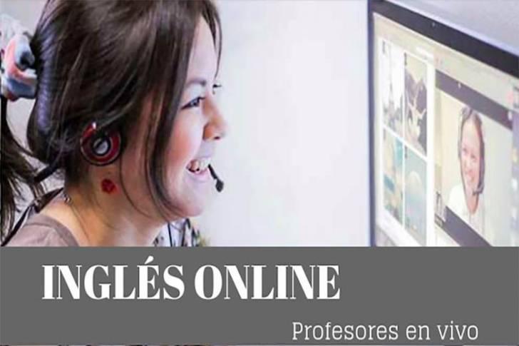 Clases de inglés online (50 min/ 7 euros)
