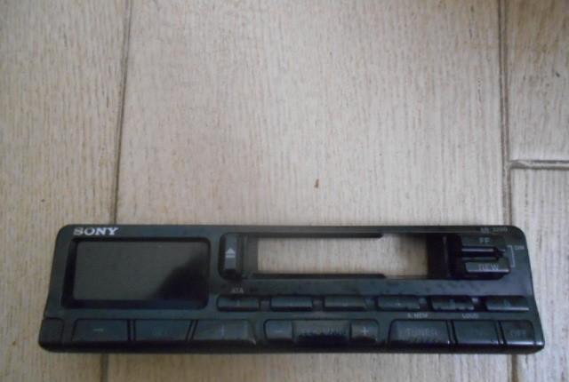 Frontal radio cassette sony xr - 3200