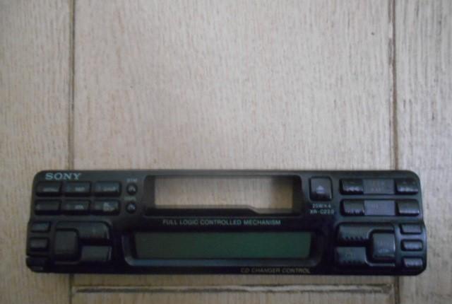 Frontal radio cassette sony xr - c220