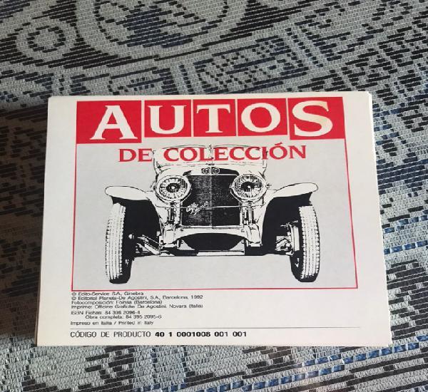 Fichas autos de colección. planeta agostini